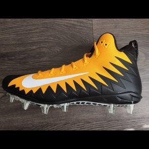 Nike Alpha Menace Pittsburgh Steelers Cleats